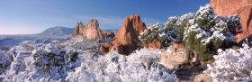 First Snow Panorama
