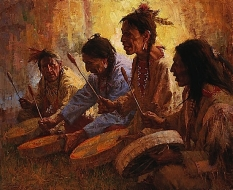 Four Sacred Drummers