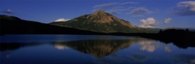Mt. Crested Butte's Summer Reflection