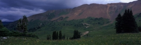 Storm Over Tin Cup Pass